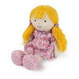 Cozy Plush Rag Doll Microwave Bed Warmer- CANDY Warmheart