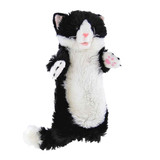 Cat Hand Puppet full length sleeve soft plush toy