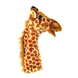 Giraffe full length sleeve hand puppet soft toy