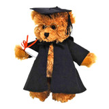 Graduation Teddy Bear with glasses plush toy