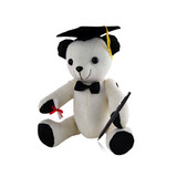 Graduation Message/ Autograph Bear with Pen - Large