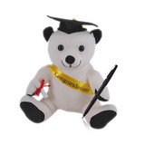 Graduation Message/ Autograph Bear with Pen Small