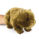Wombat Full Body Hand Puppet soft toy