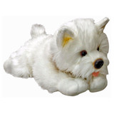 West Highland Terrier Westie dog plush toy ANGUS by Keel Toys