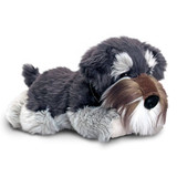 Schnauzer dog soft plush toy FERGUS by Keel Toys
