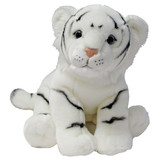 White Tiger Soft Plush Toy large Friendlees by Korimco