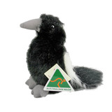 Australian Made Magpie Bird  plush stuffed toy