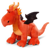 Dragon Orange Standing Stuffed Toy Medium - NICI