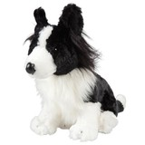Border Collie MATEY soft plush toy Outbackers by Minkplush