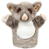 Possum Hand Puppet soft plush toy PERCY - Outbackers by Minkplush