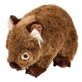 Wombat plush toy Russell Medium - Outbackers by Minkplush