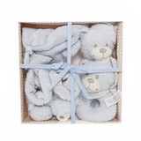 Alexandra Teddy Bear Gift Pack - 4 pieces Blue