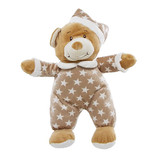 Teddy Bear In Pyjamas Starbright Brown