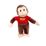 Curious George Red T-shirt Small - Gund