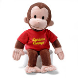 Curious George Red T-shirt Large - Gund