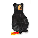 Black Bear Huge extra large Little Biggies by Wild Republic