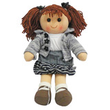Rag Doll HOLLY soft bodied plush toy doll by Hopscotch