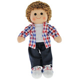 Rag Doll JACK Boy soft toy ragdoll by Hopscotch
