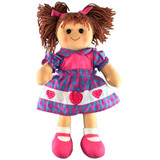 Rag Doll ABIGAIL soft bodied ragdoll soft toy doll by Hopscotch