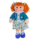 Rag Doll PHOEBE soft bodied plush toy doll by Hopscotch
