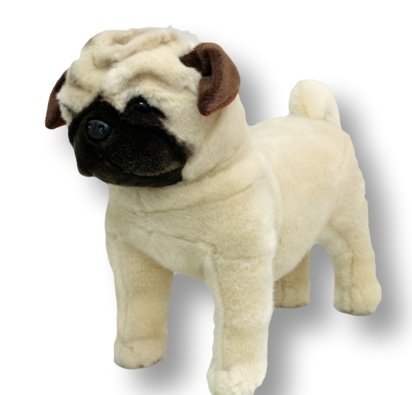 stuffed animal pug pug dog standing stuffed animal pugley 16 quot 40cm soft plush 5328