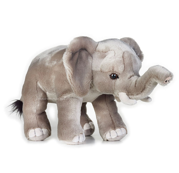 African Elephant Toys For Boys : Elephant african soft plush toy quot cm stuffed animal