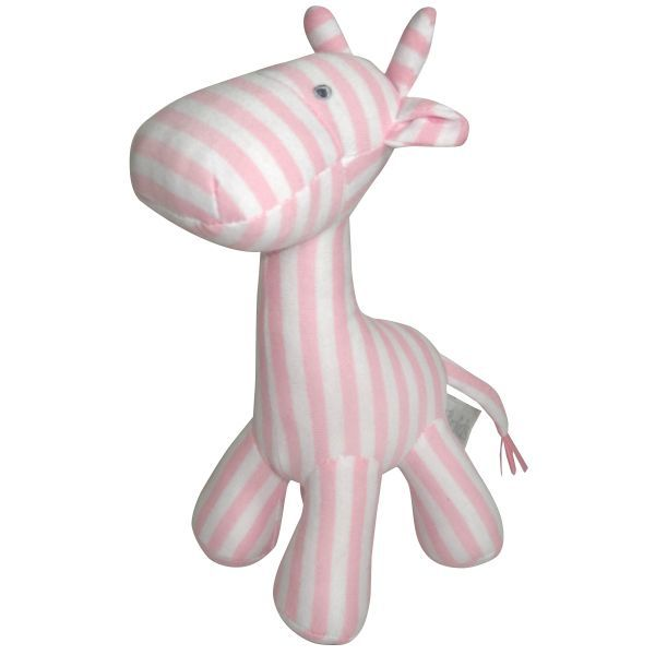 Stripy Giraffe Large Pink - ES Kids