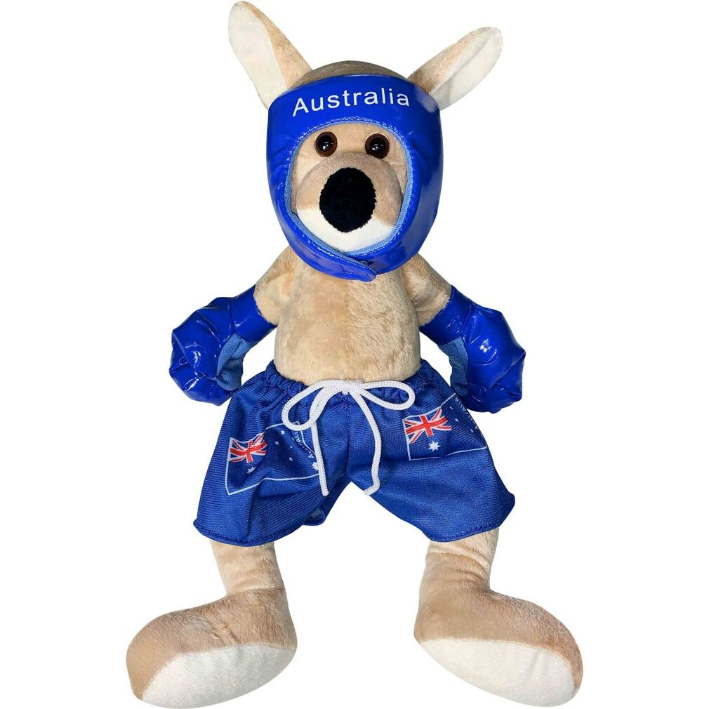 Boxing Kangaroo Small Bluey - Teddy & Friends