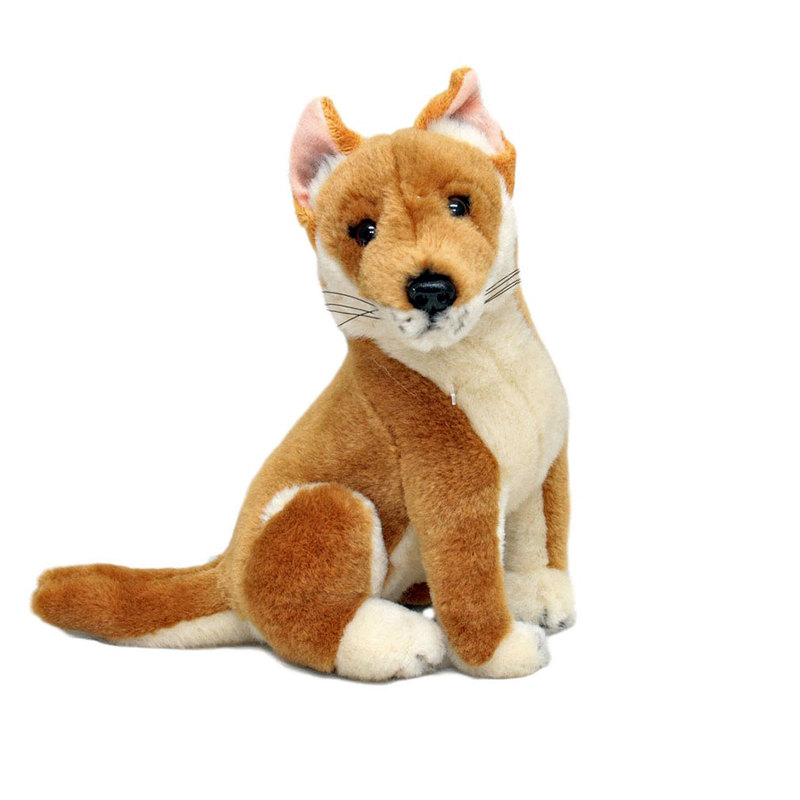 Arnie the Small Sitting Dingo Plush Toy