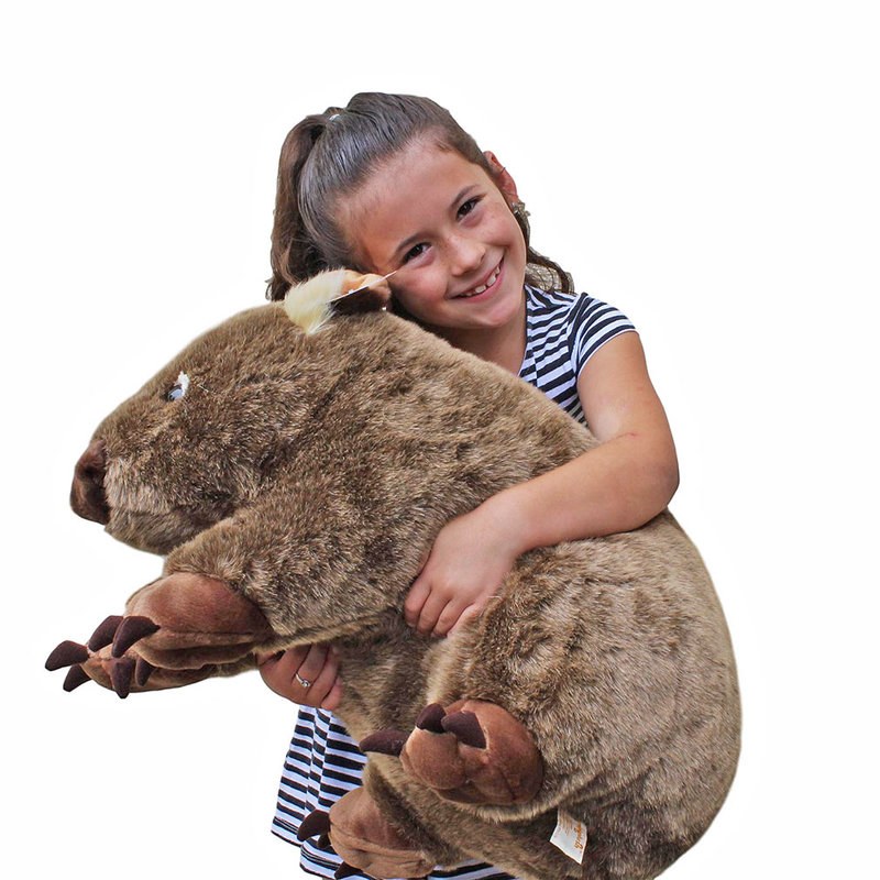 "Wombat Soft plush toy |Extra Large| 22""/55cm