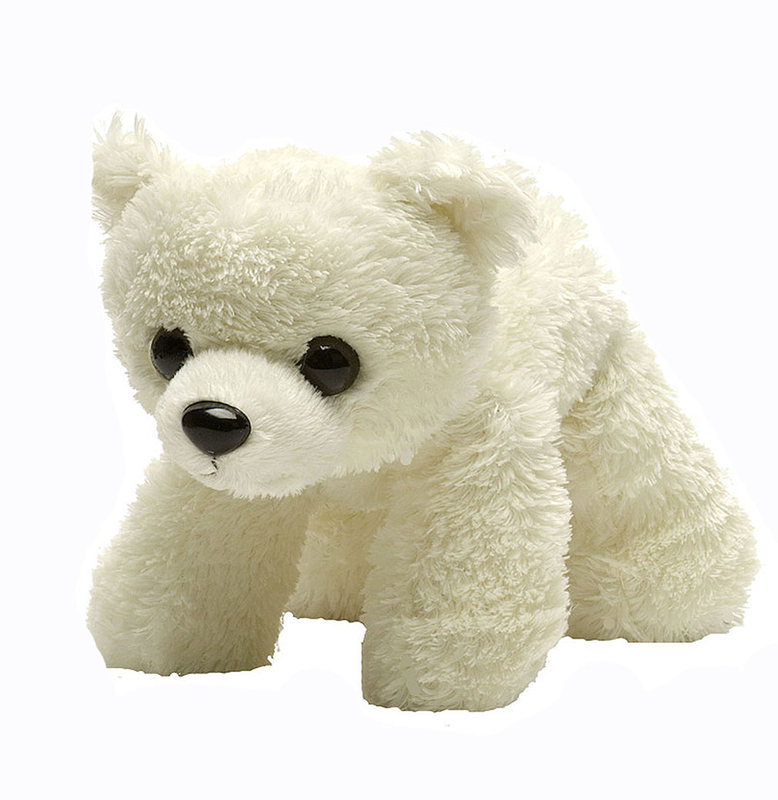 Hug'ems Polar Bear Small -Wild Republic