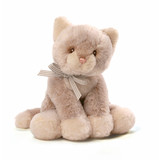 Cat With Rattle Beige Oh So Soft - Baby Gund