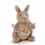 Kangaroo With Rattle Oh So Soft - Baby Gund