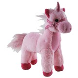 Standing Pink Unicorn Soft Toy