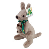 Kangaroo With Joey Large Australian Made - RealAus