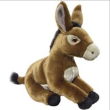 Brown Donkey Soft Toy