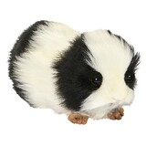 Guinea Pig Soft Toy (Black and White)- Hansa