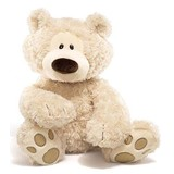 Philbin Beige Large Teddy Bear - Gund
