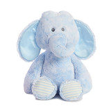 Snuggy Elephant Blue Soft Plush Baby Toy - Korimco