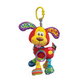 Playgro Pooky Puppy Rattle Teether Activity Friend
