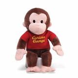 Curious George Red T-Shirt - Gund