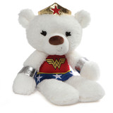 Fuzzy Wonderwoman Teddy Bear - Gund