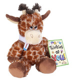 Giraffe Sore Throat Get Well Buddies - Wild Republic