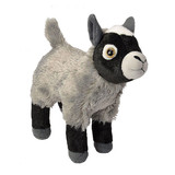 Grey Kid Baby Goat Mini Cuddlekins - Wild Republic