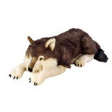 Wolf Lying Jumbo Extra Large - Wild Republic