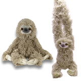 Sloth Stuffed Animal (Pack of 2) - Wild Republic