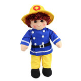 Rag Doll Fireman Ted - Hopscotch Collectables