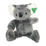 Australian Made Grey Floppy Koala Plush Toy