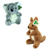 Australian Made Kangaroo and Koala Soft Toy Set
