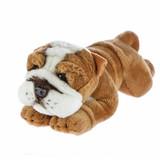 Brutus the Small Bulldog Soft Toy